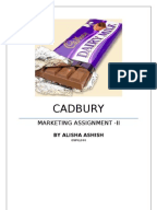cadburys dairly milk aims and objectives Market share: cadbury dairy milk have high market share  setting company's  objectives and goals: cadbury successfully turned its.