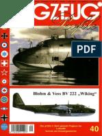 "(Flugzeug Profile No.40) Blohm & Voss BV 222 ""Wiking"""