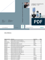 Catalogo de Productos Automatizacion-De Edificios 2010