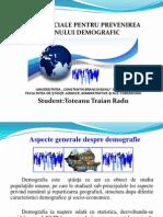 Politici sociale pentru prevenirea declinului demografic