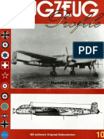 (Flugzeug Profile No.10) Heinkel He 219 Uhu