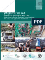 Efficiency of Soil p Use 1