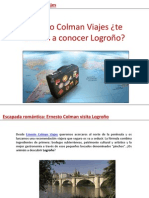 Ernesto Colman Viajes ¿te animas a conocer Logroño?