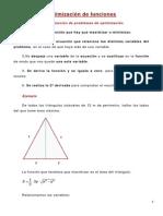 Ejercicios de Optimizacion de Funciones
