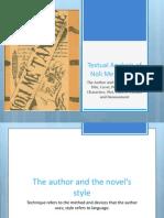 Analysis of Noli Me Tangere (ppt. version)