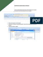 Registro de Datos Excel Intouch