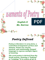 Elements of Poetry.ppt