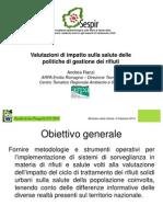 Valutazioni di impatto sulla salute delle politiche di gestione dei rifiuti - Andrea Ranzi