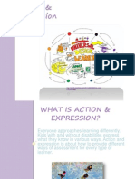 action  expression pp