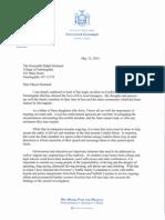 Cuomo Letter to Farmingdale Village Mayor Ralph Ekstrand