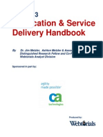 The 2013 Application and Service Delivery Handbook