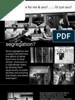 racial segregation 1