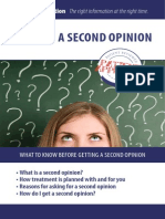 Getting a Second Opinion