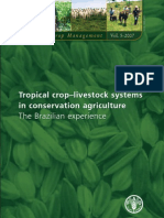 Tropical crop–livestock systems in conservation agriculture