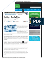 Empresas Inovam Em Supply-chain - Revista LOGÍSTICA