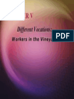 RS4 Ch5 Workers in the Vineyard Different Vocations