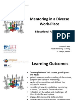 Mentoring in a Diverse Work-Place