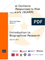 Introduction Biographical Research. WP 4.04doc