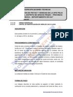 Especificaciones Tecnicas Upis Felix Amoretti
