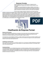 Empresas Formales