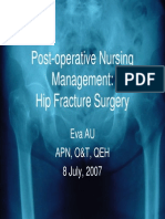 7 Nursing Managment Hip Surgery