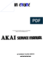 akai 4000ds service manual