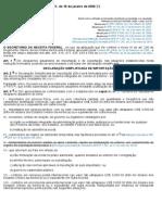 Instrução Normativa SRF no 611= DSI