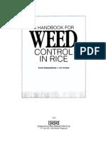 Weed Handbook 1991