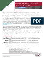 K04255 APQC Education PCF v3E Mar2013