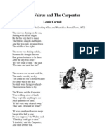 Lewis Carroll - The Walrus and the Carpenter