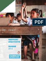 2012 Rapport d Activites CH