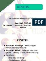 kuliah rinitis + sinusitis
