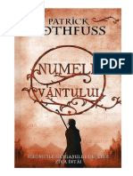 Rothfuss, Patrick - Numele Vantului v1.0
