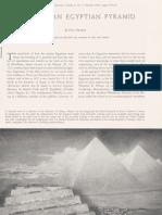 BUILDING AN EGYPTIAN PYRAMID By Dows Dunham