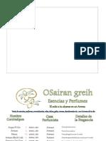 Catalogo de Perfumes Ergon (Saira)