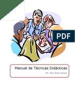 Tecnicas Didácticas Para Docentes