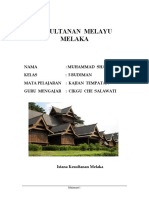 Kesultanan Melayu Melaka 20 Sept