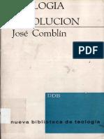 COMBLIN, J., Teología de La Revolución, Desclée de Brouwer, Bilbao 1973