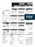 200809 District Calendar