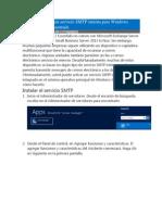 Cómo Configurar Un Servicio SMTP Interna Para Windows Server 2012 de Essentials