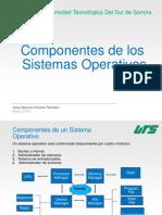 Componentes Sistemas Operativos