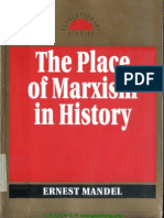 [Ernest Mandel] the Place of Marxism in History