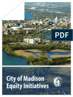 City of Madison Equity Initiatives 2014