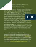 Debt Collector Defense