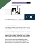 Trabajo Integracion Politica Migratoria Regional en El Marco Del Sica (1)