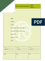 Procedimiento de Inspecciones y Revisiones de Seguridad