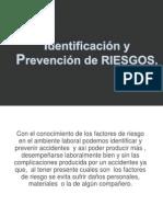 Identificación y Prevención de RIESGOS