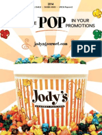 Jody's Gourmet - Promotional Products 2014