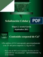 Señalización Celular Por Ca2