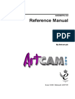 ArtCAMPro8 Reference Manual En